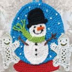 Снеговик аппликация
