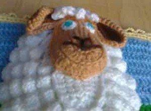 Оформление картинки с овцой