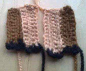 Ноги овечки связанные крючком