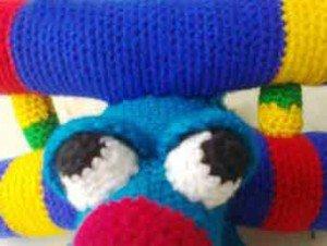 Глаза и веки для игрушки Самолета