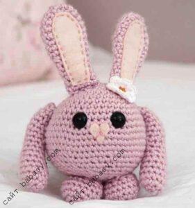 Кролик маленький круглый