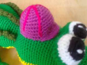 Как связать шляпу для крокодила