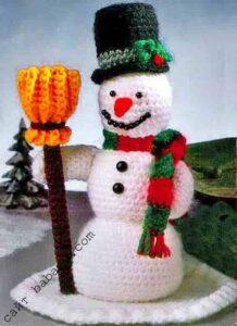 Снеговик и метла 2