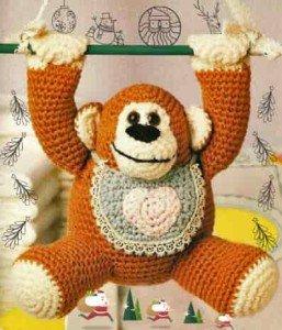 Горилла из рода обезьян