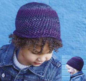 Как связать шапочку для детей