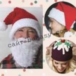 Как связать новогоднюю шапку-колпак