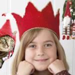 Как связать корону, шапку для кота и малентких эльфов