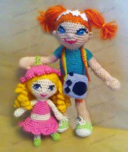 Вязание и оформление кукол