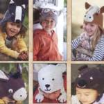 Детские шапочки крючком с ушками