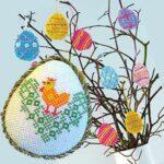 Вышитое пасхальное яйцо своими руками
