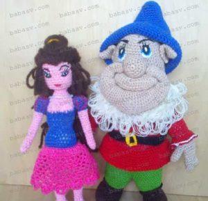 Гном с принцессой