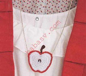 Яблоко на цепочке