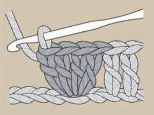 Ообъемные и пышные стежки для веера