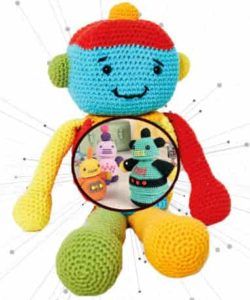 Игрушка робот крючком