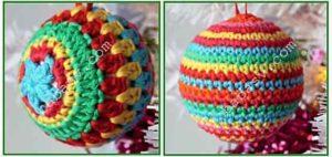 Разноцветные шары на елку