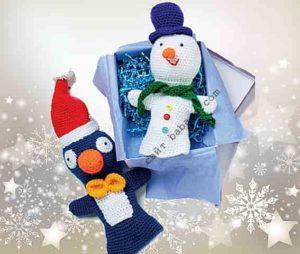 Пингвин и снеговик для театра
