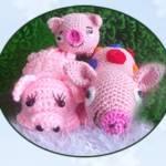 Игрушки к году свиньи