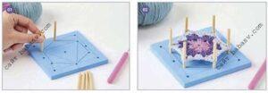 Доска для квадратных блоков