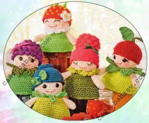Ягодные куклы