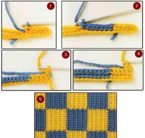 Жаккардовое вязание сбн