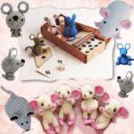 Связанные крысы и мышки крючком