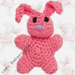 Мобильная игрушка кролик