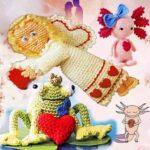 День святого Валентина игрушки крючком