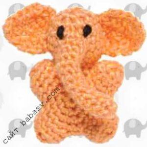 Мобильная игрушка слон