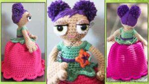 Кукла перевертыш Цветок в оригинале