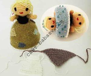 Кукла перевертыш Золушка своими руками