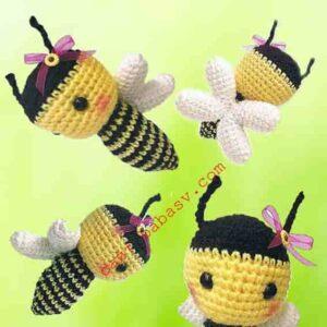 Пчелы с крыльями связаны крючком