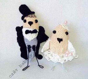 Свадебная пара игрушка