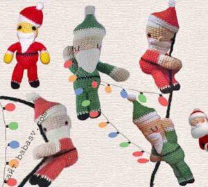 Испанский Дед Мороз связан крючком