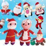 Дед Мороз готовится с игрушками амигуруми