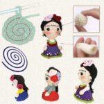 Как вязать куклу амигуруми спиралью